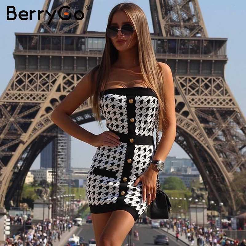 BerryGo сексуальное вязаное платье с перекрестными ремешками для женщин, винтажное женское трикотажное платье, вечерние Клубные женские миди платья, большие размеры