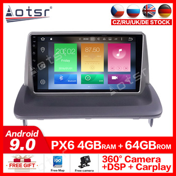 Android10.0 car Multimedia Player Radio GPS Navigation For VOLVO C40 S40 C30 C70 2006-2012 car DVD Player Multimedia Stereo dsp image