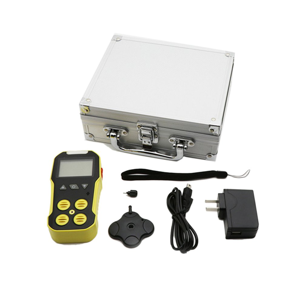 4-In-1 Gas Detector Bh-4Ah2S Co O2 Ex Advanced Mcu For Low-Power Consumption Lcd Display Self-Test