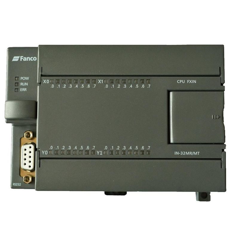 PLC industrial control board FX1N 32MT DC24V 4 way 100K pulse output 16 point input 16 point plc programmable logic controller