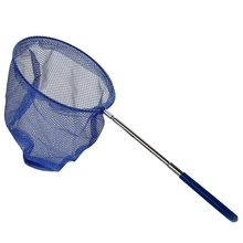 Outdoor Catching Butterfly Net Fishing Bag Stainless Steel Telescopic Tool Portable
