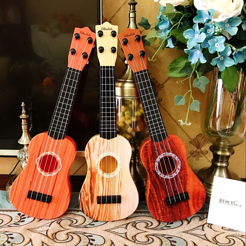 Children\'S Music Small Guitar Can Play Medium Ukulele Simulation Musical Instrument Piano Male And Female Baby Toys