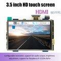 ЖК-модуль 3,5 дюймов Pi TFT 3,5 дюймов резистивный сенсорный экран 3,5 дюймов ЖК-экран модуль HDMI интерфейс для Raspberry pi