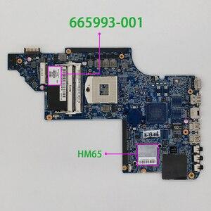 Image 1 - 665993 001 аккумулятор большой емкости HM65 для струйного принтера HP Pavilion DV7 DV7 6B DV7 6C серии DV7T 6C00 ноутбук материнская плата тестирование