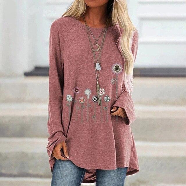 ZAATORA™ Heather Print Loose Tshirts 2