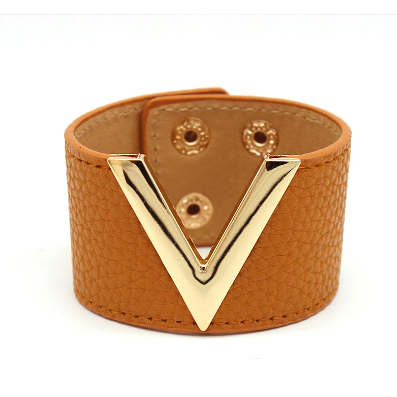 Statement Leather Simple Bracelet Bracelets Jewelry Women Jewelry