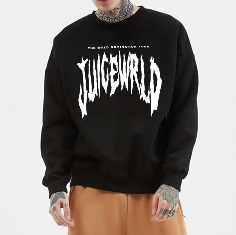 Juice Wrld Autumn Women/Men O-neck Hoodies Fashion Unisex Winter Round Collar Sportswear Boys/Girls Casual O Neck Sweatshirts