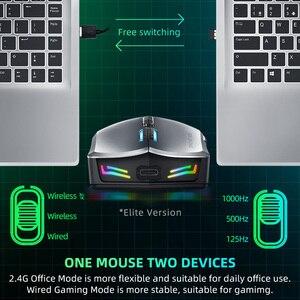 Image 3 - Machenike M7 무선 마우스 게이밍 마우스 게이머 16000 인치 당 점 RGB 프로그래밍 가능 충전식 PMW3212 PMW3335 컴퓨터 마우스