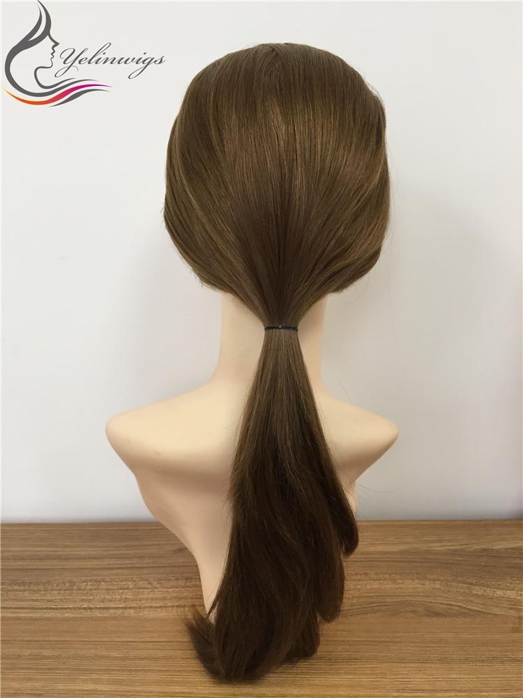Best Quality European Virgin Hair Jewish Wunder Wig High Density Kosher Fall Wig Sport Wig In Stock