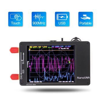 NanoVNA 50KHz-900MHz Vector Network Analyzer Digital Touching Screen Shortwave MF HF VHF UHF Antenna Standing Wave - discount item  15% OFF Walkie Talkie