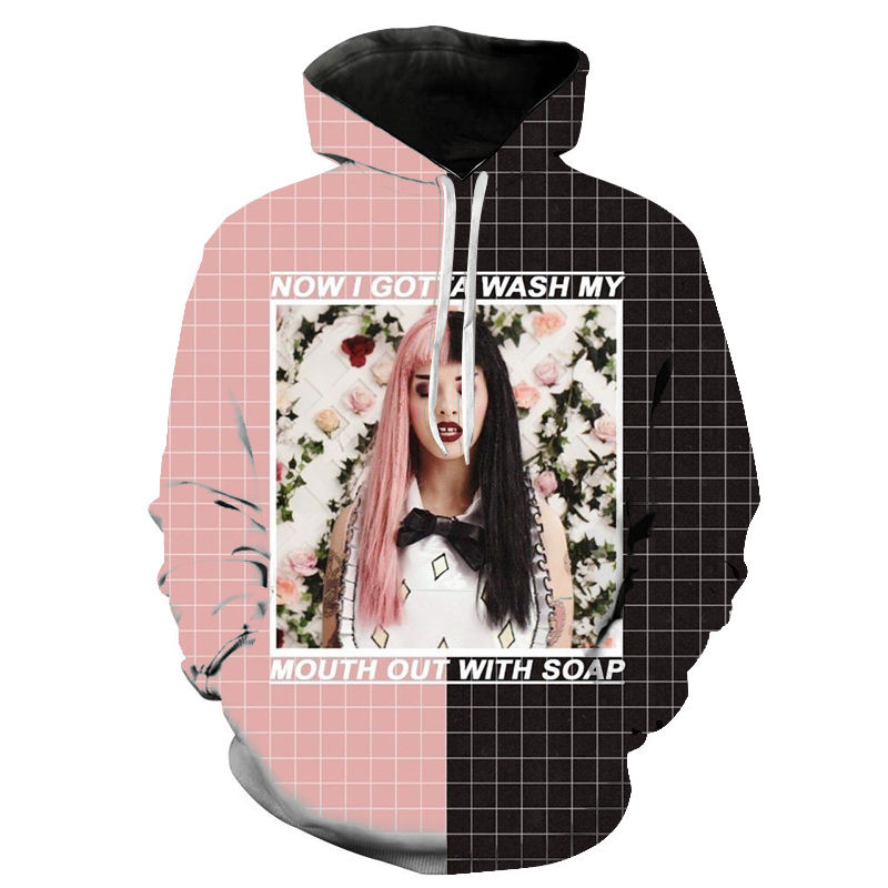 Melanie Martinez Hoodies Men Women Sweatshirt Fashion Harajuku Unisex Streetwear Sweatshirt Pullovers Cool 3D Print Hoody