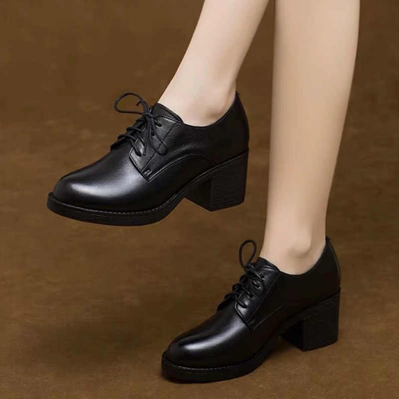 Spring Autumn Women Shoes Lace Up High