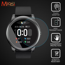 1/2 шт. 9H закаленное стекло премиум класса для Haylou Solar LS05 защита экрана смарт-часов для XiaoMi Haylou Солнечная пленка аксессуары