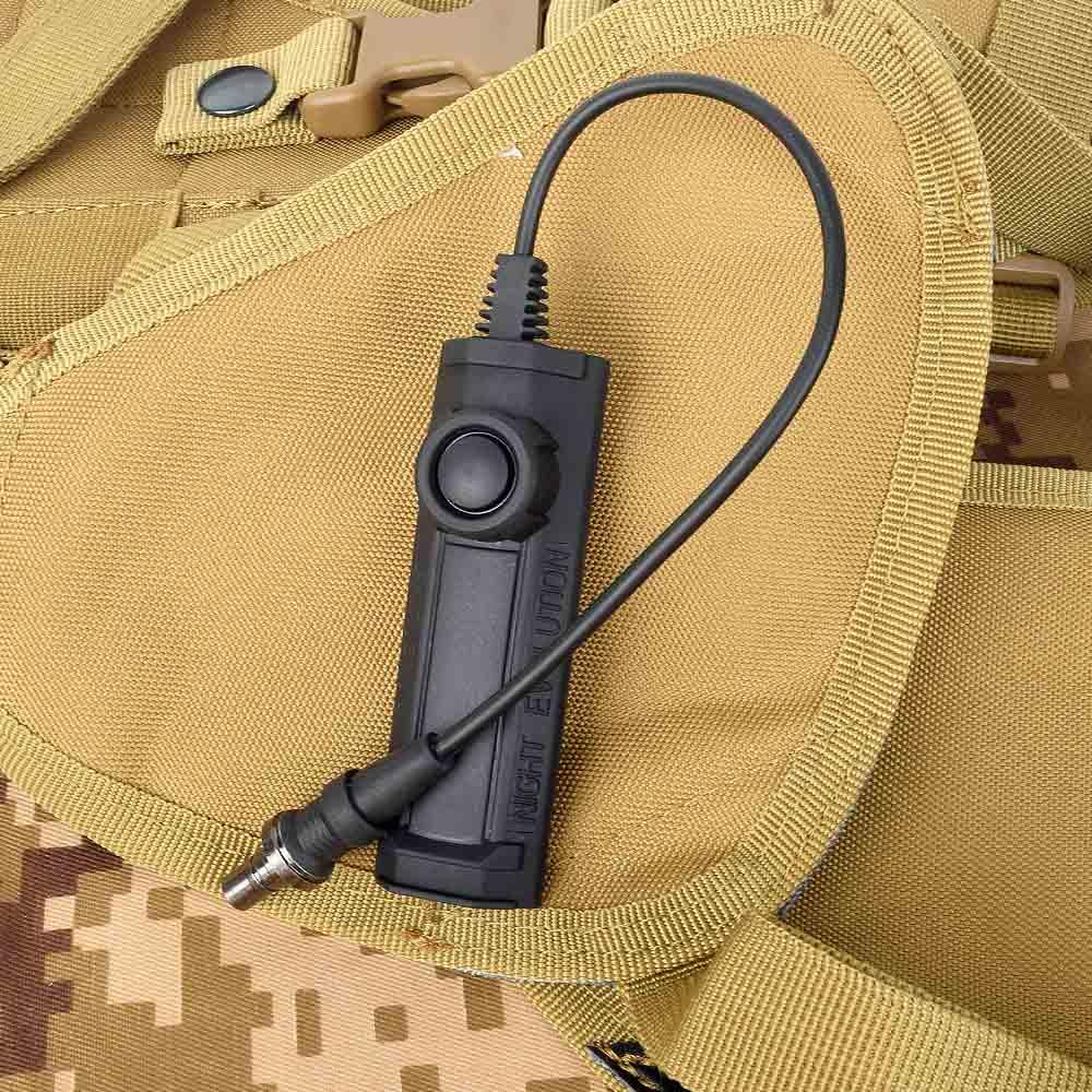M600 arma luz de pressão dupla função