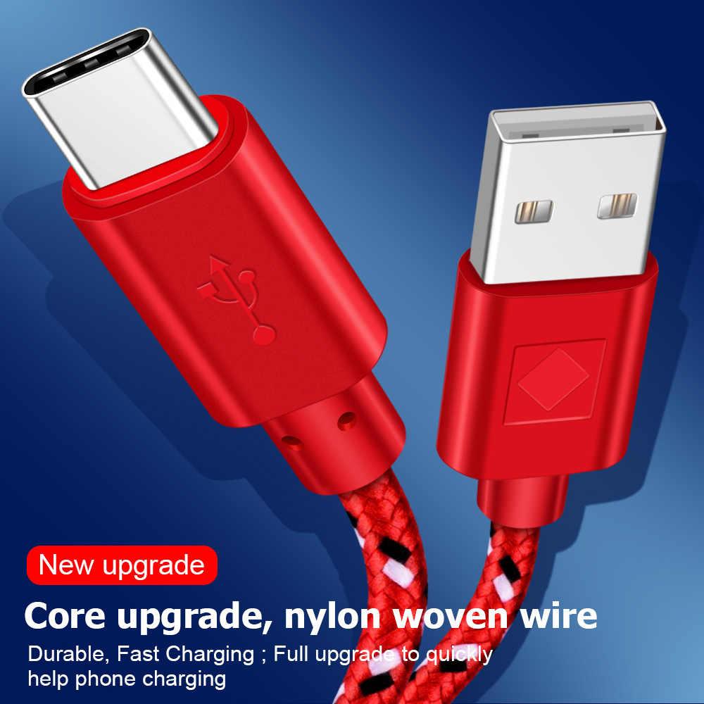 Olaf Micro USB Kabel 1M 2M 3M Cepat Pengisian Data Kabel Charger Usb untuk Samsung S7 Xiaomi huawei Ponsel Android Micro USB Kabel