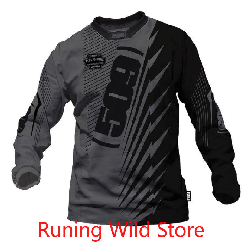 2020 new men's racing Jersey long sleeved Jersey bicycle mountain bike DH downhill shirt breathable and quick drying men's cloth|Cycling Jerseys| |  - title=
