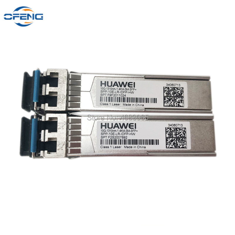 Free Shipping Huawei SFP Module 10G 1310nm 1.4KM SM SFP+ 100% Original HW Small Form-factor Pluggables SFP Transceiver Module