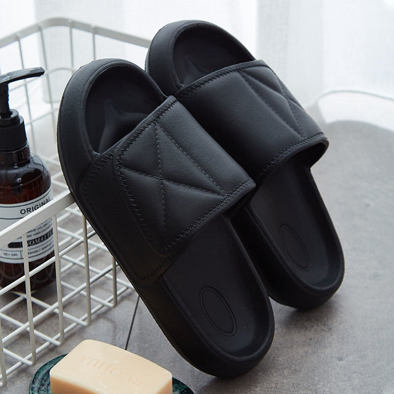 Slippers Men Slides Indoor Massage Slipper Man Home Shoes Non-slip Zapatos Hombre Beach Women Couple Flip Flops