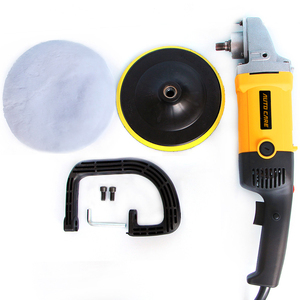 Image 2 - High Speed Car Polisher 6 Variable Speed 1200W High Power Car polisher For Car Paint Care Polishing Waxing Free Pad Bonnet