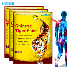 2020 Sumifun 64Pcs Tiger Balm Medical Plaster Neck Back Body Pain Relaxation Joint Pain Patch Killer Body Back Relax Sticker 10 20 30ml chinese herbal patches rheumatism joint oil neck back body relaxation pain killer body massage plaster tiger balm