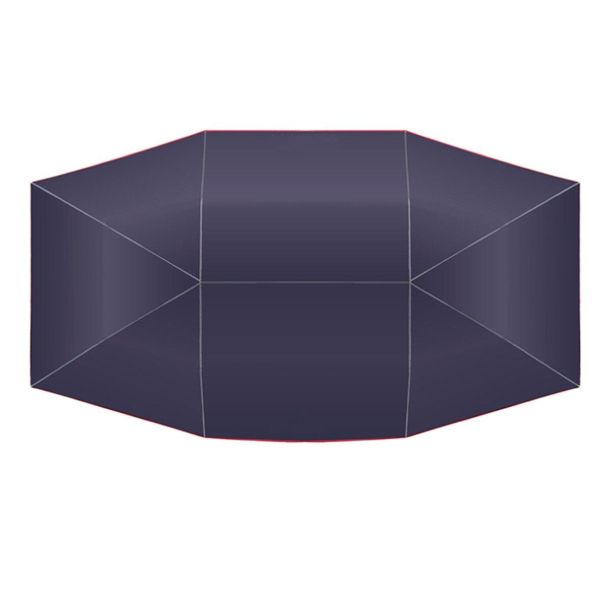 4.5x2.3 M/4.2x2.1 M Portable extérieur voiture véhicule tente voiture parapluie soleil ombre couverture Oxford tissu Polyester couvre sans support - 6