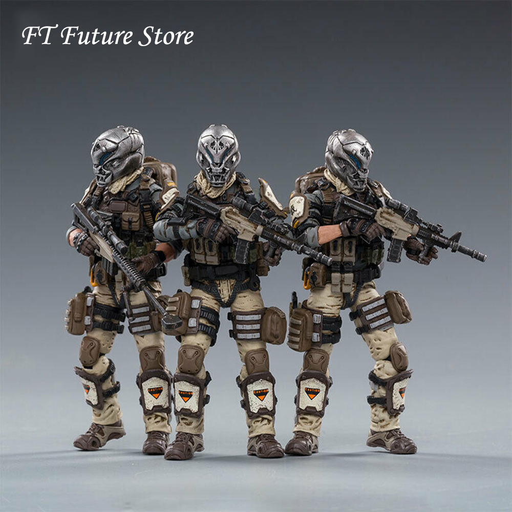 In Stock Collectible JOYTOY 82011071 1/18 Desert Skull Field Squad Action Figure Model Toy for Fans Holiday Gifts