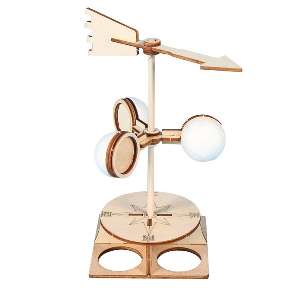 Kids DIY Wind Vane Model Kit Scientific Physics Experiment Educational Toys Develop Children's Ability To Observe Think Analyze