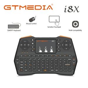 2.4Ghz Wireless Mouse Air Mouse i8X Mini Keyboard Ingles Espanol Teclado inalambrico para TV Box con Android / Mini PC(China)