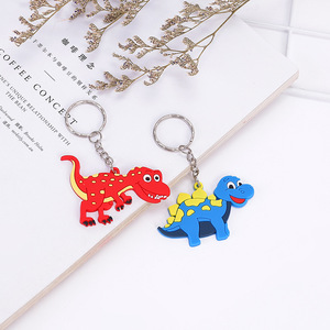 Image 4 - 6pcs/lot Dinosaur Rubber key chain Bracelet Birthday Party Supplies Gifts Wedding Gifts for Guests Favors Bracelet Lovers Gifts