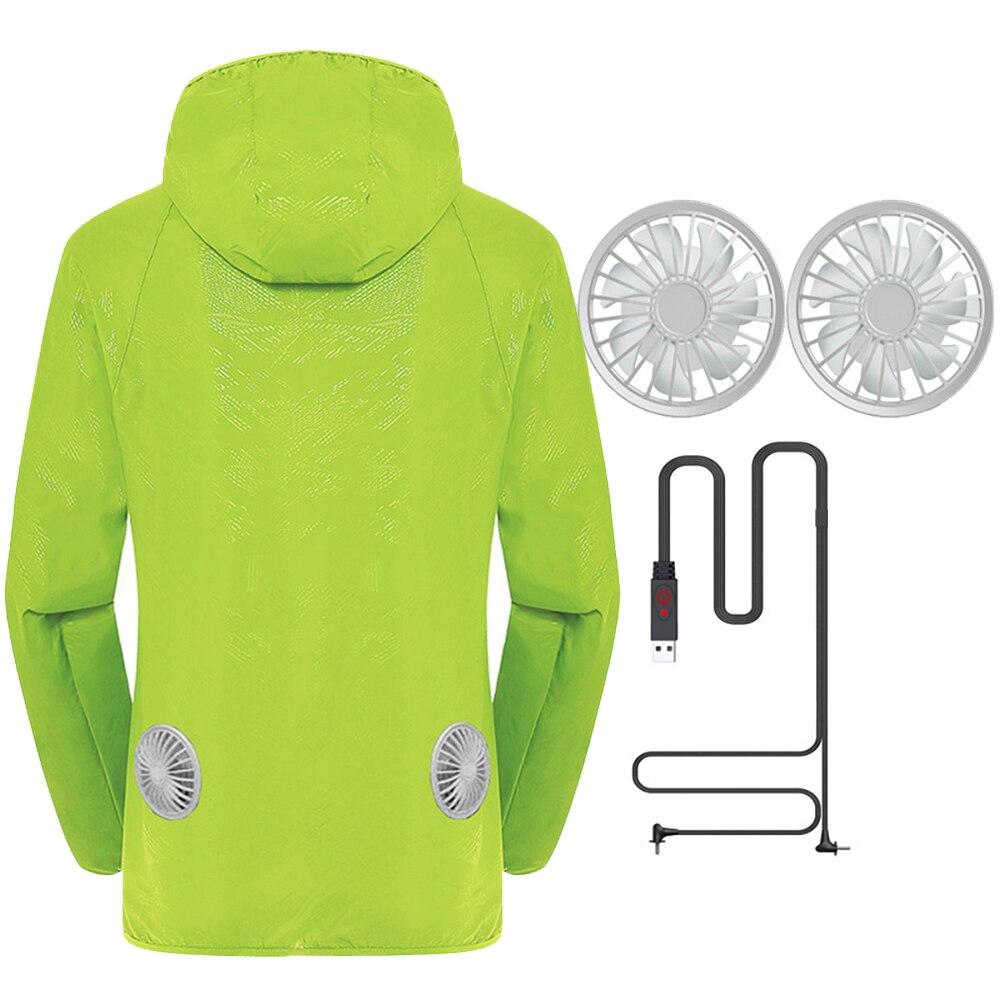 Image 5 - Новая летняя мотоциклетная куртка, водонепроницаемая охлаждающая куртка для мужчин и женщин, Солнцезащитная куртка с USB зарядкой, 6 цветов, S 5XLКуртки    АлиЭкспресс