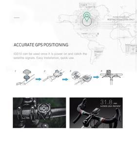 Image 5 - IGPSPORT IGS10 Waterproof מחשב מד מהירות אלחוטי אופני GPS