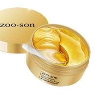 Deep Sea Kaviar 24K Gold Feuchtigkeits Augen Maske Entfernen Augenringe Anti Alter Tasche Hautpflege Kollagen Gel Auge patches