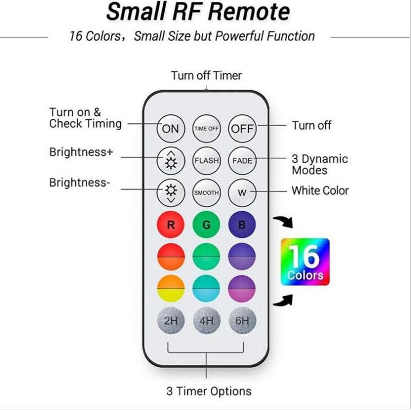 luz led subaquatica de 16 cores a 04