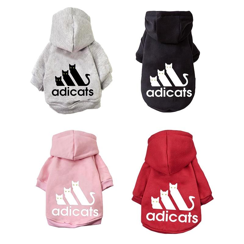 Модная одежда для кошек пальто для домашних кошек куртка толстовки для кошек одежда теплая одежда для домашних животных Костюм для собак 20
