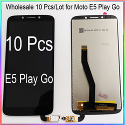 WholeSale 10 Pcs/lot for Moto E5 PLAY Go LCD Screen Display with Touch Digitizer Assembly XT1920 XT1921