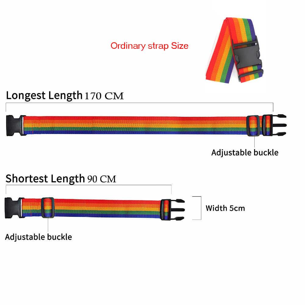 שקיות אביזרי רצועת מטען מתכוונן אריזת מנעול חגורת מאובטחת מנעול נגד גניבת רצועת מטען חגורת Bundling