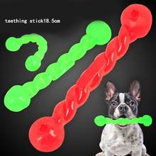 Мягкая резиновая твист палочка для собак жевательная игрушка