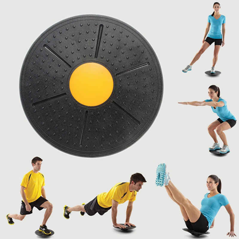 Multifunctional Exercise Equipment Body Massage Balance Board for Fitness WG WATAGIFT Twist Waist Torsion Disc Board Slim Waist Hips Machine Magnets Rotating Board With pull-ropes