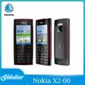 Nokia X2-00 Восстановленное Оригинальное Nokia X2-00 Bluetooth FM JAVA 5MP разблокировать телефон с английский/Россия/Иврит/арабская клавиатура для компьютер...