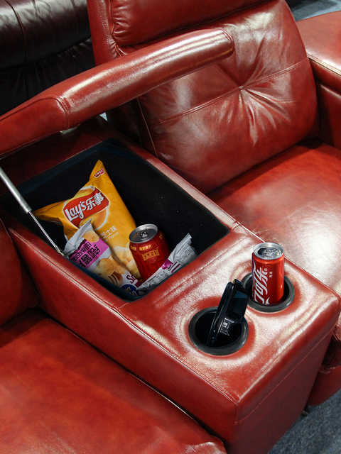 Leather Theater Dual Recliners  5