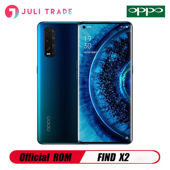 "OPPO Find X2 5G Mobile Phone Snapdragon 865 Android 10.0 6.7"" 120HZ 3168X1440 8GB RAM 256GB ROM 48.0MP 65W Charger 48MP Camera"