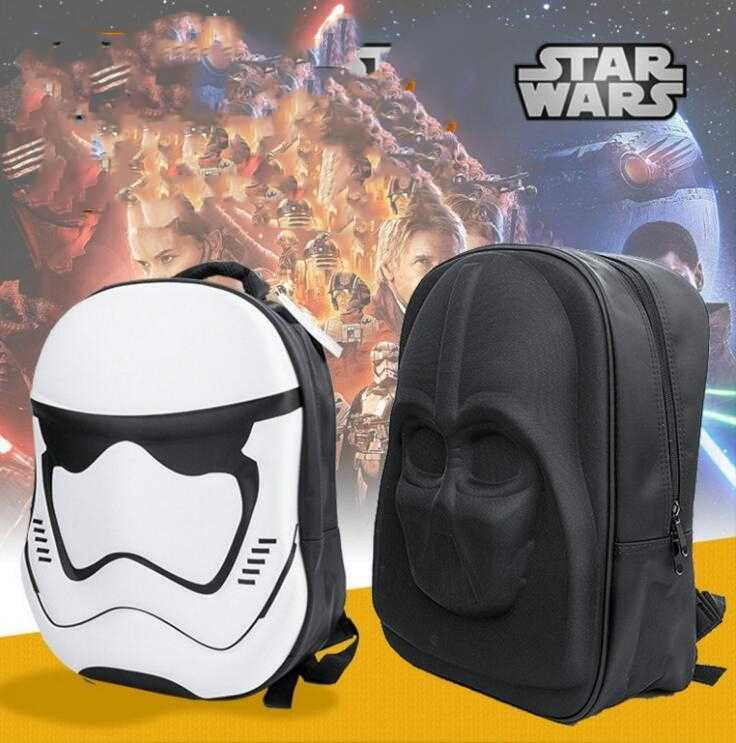 Star Wars 3D Anime Carton Teenagers Cosplay bag School Shoulder Backpack Bags Darth Vader Backpack