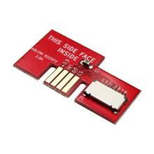 NGC 어댑터 전문 SD2SP2 어댑터 지원 직렬 포트에 대 한 마이크로 SD 카드 어댑터 TF 카드 판독기