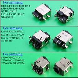 Laptop dc power jack conector de porta de carregamento Para SAMSUNG RV411 RV515 RV420 RC512 RV511 RV510 RV509 RV515 R530 R540 QX510 R428