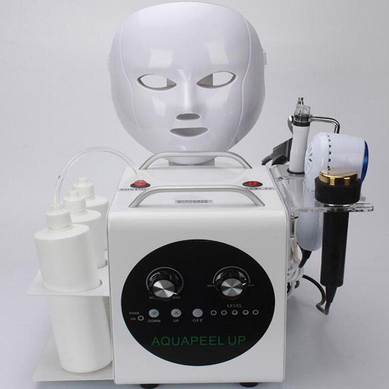 Hydra Facial Dermabrasion Machine Aqua Jet Peel Water Dermabrasion 5 In 1 Skin Care Oxygen Hydra Aqua Machine Beauty Instrument