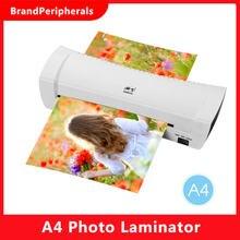 A4 foto laminador de frío calor velocidad película de laminación Plastificadora máquina de laminación para A4 delordenador foto