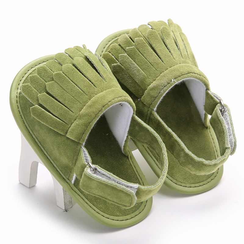 B & Gฤดูร้อนBreathable Beachรองเท้าแตะกระเป๋ารองเท้าAnti-Slipยางนุ่มFirst Walkersเด็กวัยหัดเดินเด็กรองเท้า