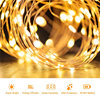 LED Fairy Light 5 10 20 30 40 50M Solar String Light Chain Garland Copper Wire Backyard Outdoor Christmas Halloween Decoration review