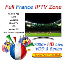 Get more info on the 1 3 6 12 months iptv subscription 7000+ 4K HD Live VOD tv-series French Italy Spain Portugal Netherland Germany iptv m3u 1 year