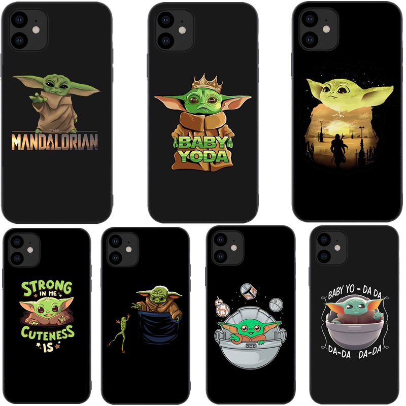 Baby Yoda The Mandalorian Tv Cute Cartoon Soft Silicone Phone Case Cover Shell For Iphones X 6 6S 7 8 Plus XR XS 11 Pro Max 2019